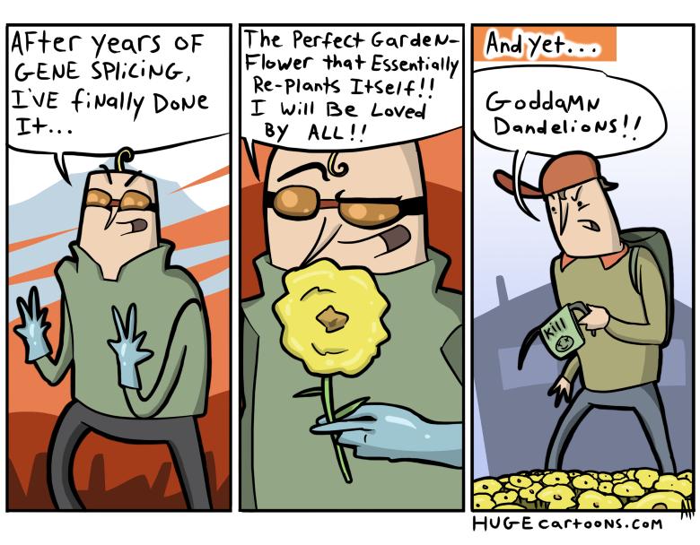 Self Planting Flower