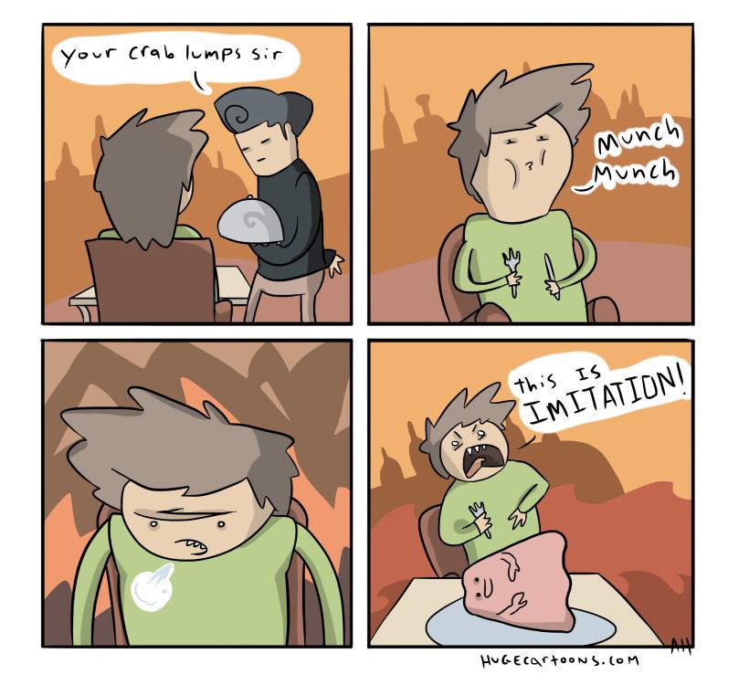 Crab Imitation