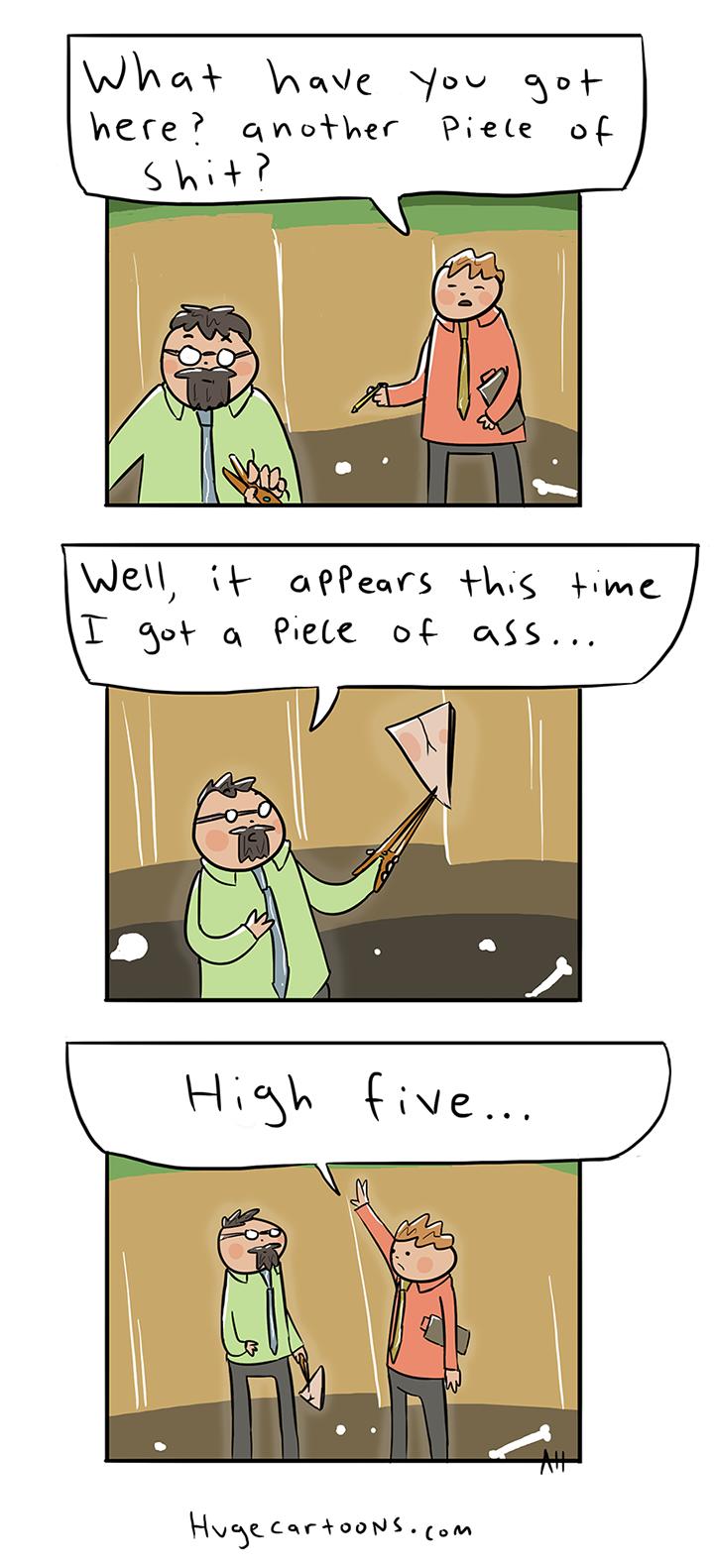 Awkward Archaeology