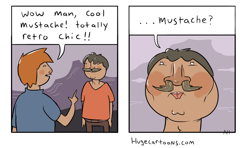 Cool Mustache
